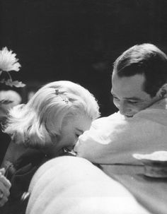 theniftyfifties:  Paul Newman and Joanne Woodward  So in love