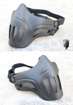 EbairSoft Airsoft parts & Tactical Gear - G TMC Ghost Recon style Mesh Face Mask ( BK ) TMC1745-BK