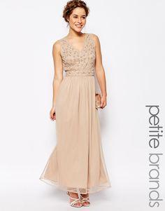 Maya+Petite+Maxi+Dress+With+Embellished+Top
