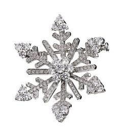 Van Cleef & Arpels Snowflake Brooch