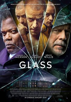 Glass Security guard David Dunn uses his supernatural abilities to track Kevin Wendell Crumb, a disturbed man who has twenty-four personalities. Director: M. Night Shyamalan Writer: M. Night Shyamalan Stars: James McAvoy, Bruce Willis, Samuel L. James Mcavoy, Bruce Willis, Hindi Movies, Surfer D'argent, Bon Film, The Beast, Film Streaming Vf, Tv Shows Online, Full Movies Download