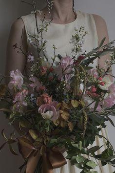 AESME   Flowers & Fine Art - weddings & events   Spring Wedding Bridal Bouquet