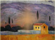 Greek Paintings, Blues Artists, Painter Artist, 10 Picture, Greek Art, Romanticism, Landscape Paintings, Landscapes, Love Art