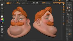 """La Bouff from the Disney film """"The Princess and the Frog"""". Designed by Randy Haycock. 3d Character, Character Concept, Cute Characters, Cartoon Characters, Maya Modeling, Cartoon Boy, Disney Films, Character Design Inspiration, Zbrush"""