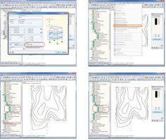 Dlubal RFEM 5 - Isolinien für Schwarz-Weiß-Ausdruck vorbereiten | www.dlubal.de | #bim #cad #dlubal #dynamik #eurocode #fem #rfem #rstab #rxholz #statik #statiksoftware #tragwerksplanung