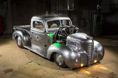 12.4 Liter Radial-Engined 1939 Plymouth Truck