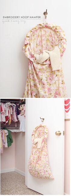 Embroidery hoop hamper, foldable multi clothing drying line, diy murphy table, LOVE diy thin hanging oak desk