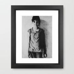 Who is Anna? Framed Art Print by Norbert Katona - $34.00