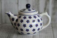 Prachtige Bunzlau thee potjes