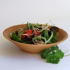 Spalted Beech Wooden Bowl 182 x 50 mm Side Salad, Wooden Bowls, Salad Bowls, Summer Garden, Safe Food, Serving Bowls, Allotment, Vegetables, Summer Days