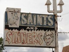 Image uploaded by lonerboysdielast. Find images and videos about theme, saints and sinners on We Heart It - the app to get lost in what you love. Fall Out Boy, Nicola Peltz, Santa Cristina, Religion, Saints And Sinners, Southern Gothic, Look At You, Vintage Signs, Aesthetic Pictures