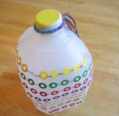 Make a Sticker Shakere - Art and Music - Making Musical Instruments - KinderArt