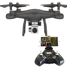 NEW HD Camera Drone Live Video FPV One Key Return 360 Roll Remote RC Quadcopter  #Rabin