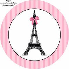París: Etiquetas para Candy Bar para Imprimir Gratis.
