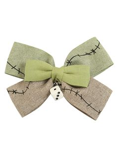 The Nightmare Before Christmas Oggie Boogie Dice Hair Bow | Hot Topic