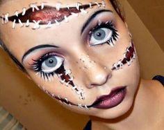 #Halloween #maquillaje heridas + Información sobre nuestro CURSO: http://curso-maquillaje.es/msite-nude/index.php?PinCMO
