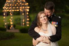 a military groom and his beautiful bride | photo by http://andigrantphotography.com