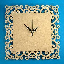 Polotovary - Vyrezané hodiny 012, ihneď - 5843519_