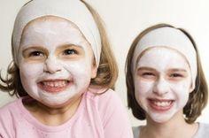 Facials are a fun spa-party activity for girls.