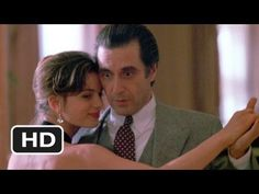 Frank (Al Pacino) teaches the beautiful and charming Donna (Gabrielle Anwar) how to dance the tango.