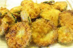 coconut fri, fri zucchini, coconuts, grain free, zucchini chips, coconut oil, gluten free, coconut flour recipes, fried green tomatoes