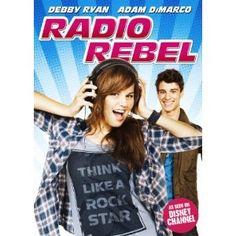 Radio Rebel is a Disney Channel Original movie staring Debby Ryan as Tara Adams. Teen Movies, Netflix Movies, Family Movies, Old Movies, Great Movies, Movie Tv, 2012 Movie, Disney Channel Movies, Walt Disney Movies