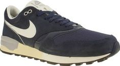 Nike Navy Air Odyssey Mens Trainers The classic runner from the late 80s arrives to revamp your casual athletic styling. The Nike Air Odyssey is crafted in navy suede, complimented by breathable mesh underlays. A PU midsole and Air-Sole http://www.comparestoreprices.co.uk/january-2017-8/nike-navy-air-odyssey-mens-trainers.asp