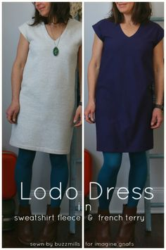 sewing: lodo dress comparison