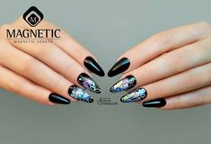 PowerGel & Nail Art with Gelpaste (106800) & One Coat Color Gels by Elena Galazyuk #nailsoftheday #nailsbymagnetic #nails #nailart #nails2inspire https://webshop.magneticnaildesign.com/one-coat-color-gel
