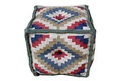 Thessaly Kilim Pouf on OneKingsLane.com