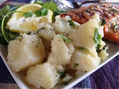 Parsley Potatoes - Fabulous 5-ingredient recipe! Lose the meat and go for it!