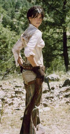 Penelope Cruz's cowgirl corset in Bandidas.
