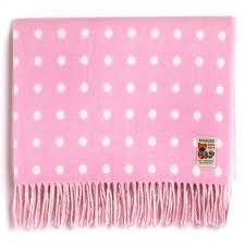 Foxford Irish Made Baby Girl Blankets - Soft Lambswool. The ideal baby gift for a new little girl. Wool Baby Blanket, Baby Girl Blankets, Baby Shower Gifts, Baby Gifts, Irish Baby, Woolen Mills, Christening Gifts, Pink Polka Dots, Cute Pink