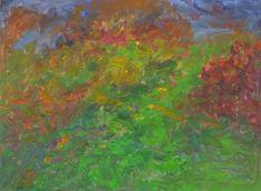 Rautio: Rose garden in november - Ruusutarha marraskuussa, 80x110 cm, 2017.