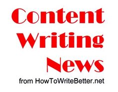 How to write the best content - latest news ... Get straight to some very useful information here, to help you write better blogs and other content...read on!