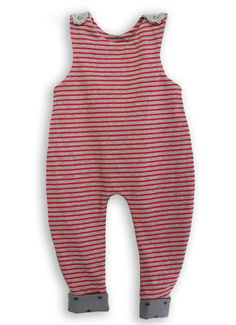 So cute stripy baby romper – geek chic for girls and boys! Super comfortable and soft cotton jersey baby dungarees romper, with snaps on the shoulders for comfort and easy dressing, allowing lots of movement. A great fit, ideal to move around, play and feel free. Unisex. The cotton rib foot bands can be worn rolled up as well as down – perfect for growing kids! Handmade with love in the UK by My Fairybell. www.etsy.com/uk/shop/myfairybell