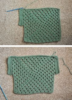 Granny Square Top ༺✿ƬⱤღ https://www.pinterest.com/teretegui/✿༻