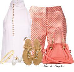 """Bermuda Shorts"" by natasha-gayden on Polyvore"