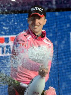 Giro stage 1 win for American Taylor Phinney! Pretty in Pink! Cycling Clothing, Cycling Outfit, Pro Cycling, Cyclists, Bike Stuff, Biking, Pretty In Pink, Party Time, Champion