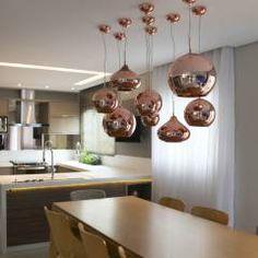 Ambientes Integrados: Salas de jantar Moderno por Suelen Kuss Arquitetura e Interiores