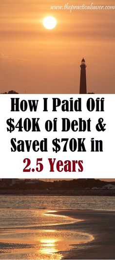 "This ""How I Paid $40K in debt and Saved $70K in 2.5 Years"" post details how the author was able to pay off debt he owned to creditors and saved more than $70K in under 3 years. The author wishes to provide inspiration to those who are going through the struggles associated with debt or trying to pay off debt."