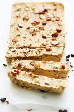 Vegan Hazelnut Coffee Fudge #healthy #dessert #glutenfree