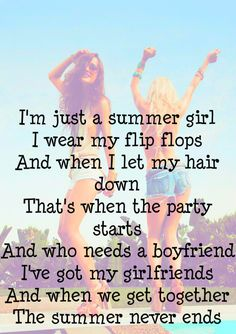 SUMMER. this is like my favorite song...