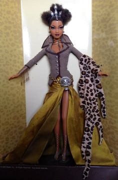 Tatu Designer Byron Lars 2003 Barbie Doll Limited Edition Treasures of Africa | eBay