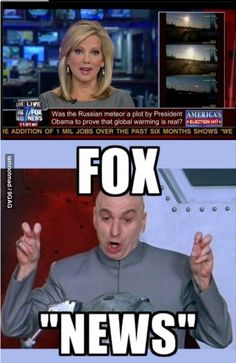 Lol I have no idea if the top part is real? (I'm not American and have never watched FOX news in my life ....)