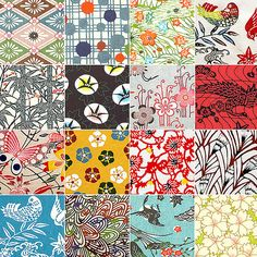 now I understand why so much of the vintage feedsack fabric I sell goes to Japan!