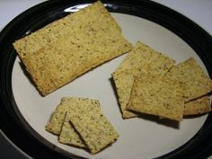 Homemade Seed Crackers | Foodie With Family