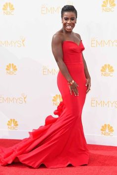 Uzo Aduba | All The Red Carpet Looks From The 2014 Emmy Awards