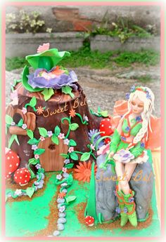 tarta el bosque encantado