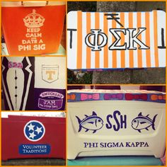 Finished painted cooler - Phi Sigma Kappa